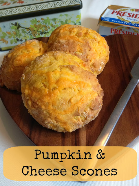 Pumpkin and Cheese Scones - Easy Recipe