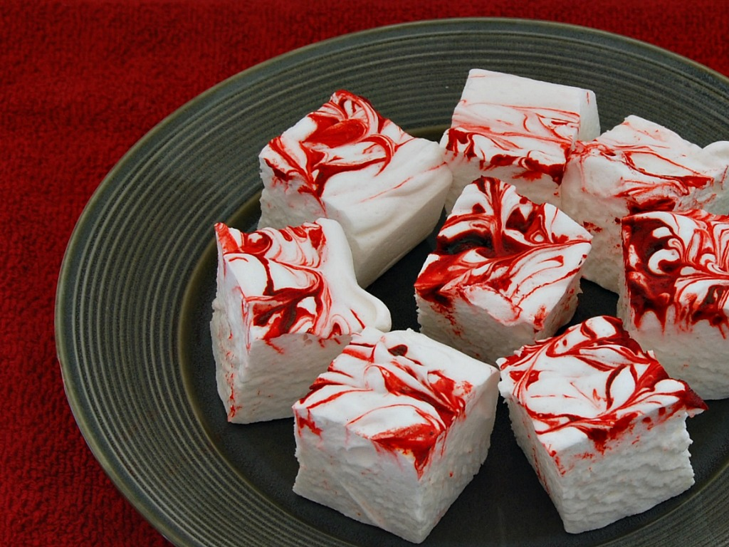 peppermint marshmallows week 3 of 12 weeks of christmas treats - Christmas Marshmallows