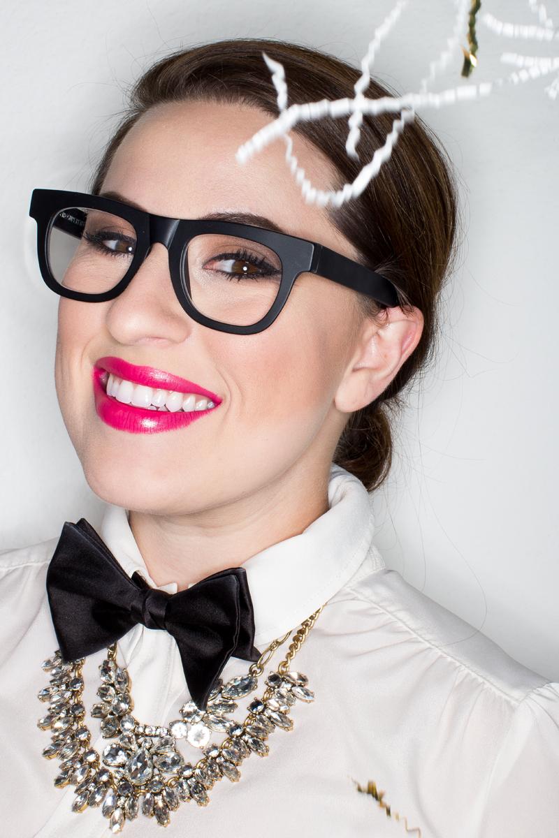 super ciccio matte eyeglasses, new year makeup ideas, occ lip tar