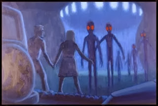 Abduction by aliens (http://thealientheories.blogspot.com)