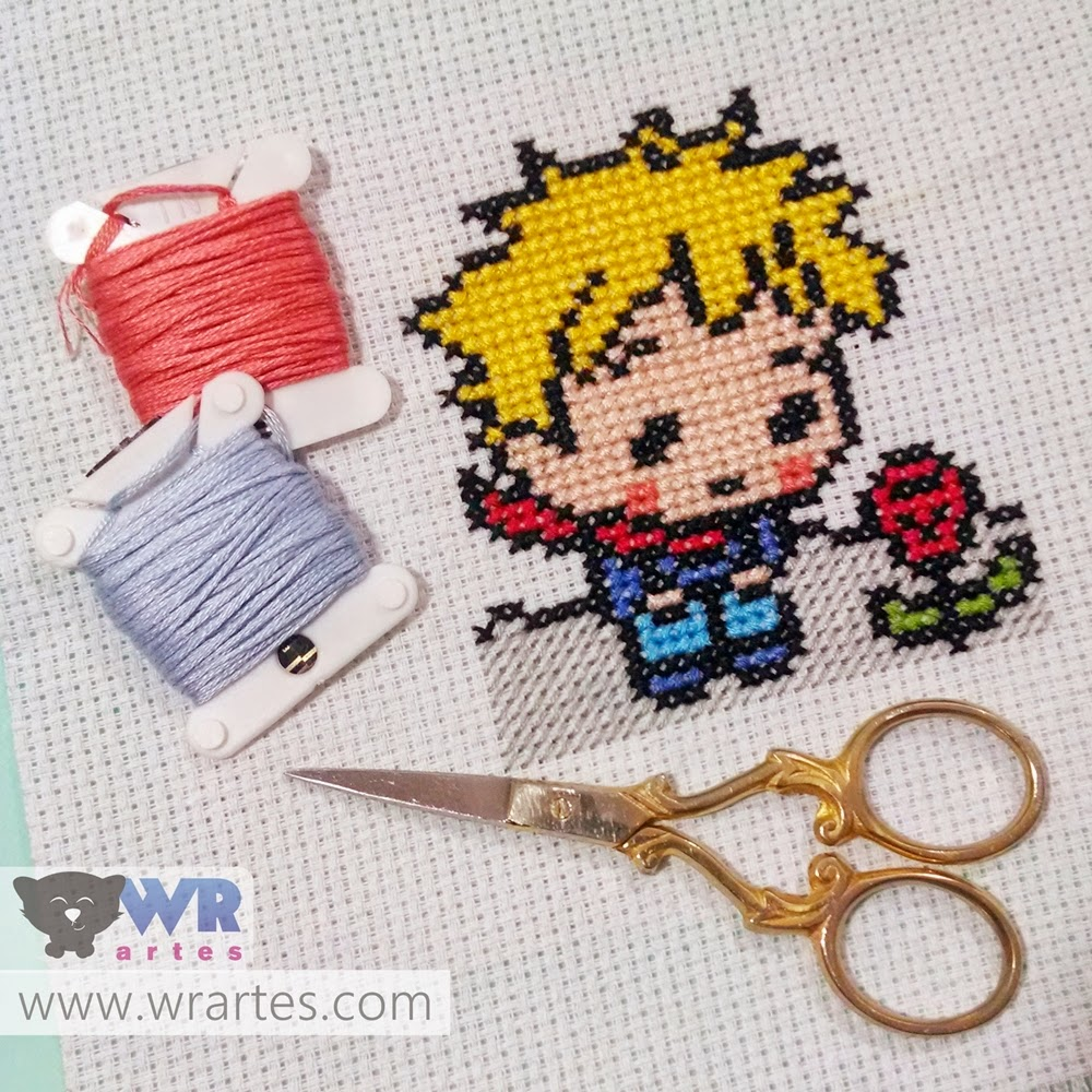 the little prince cross stitch