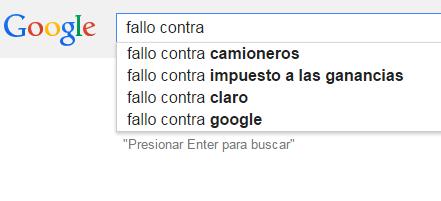 Saber leyes no es saber derecho fallo sobre responsabilidad de la imagen eso es lo que sale en el autocompletar de google argentina si uno pone fallo contra me pregunto cual es el fallo contra camioneros urtaz Gallery