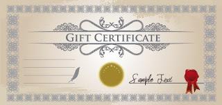 Certificados para imprimir certificado rectangular