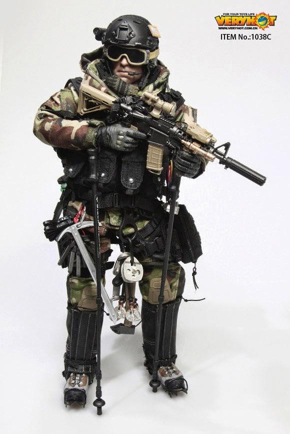 1//6 scale Hot Toys Navy Seal Polar Mountain Striker Goggles