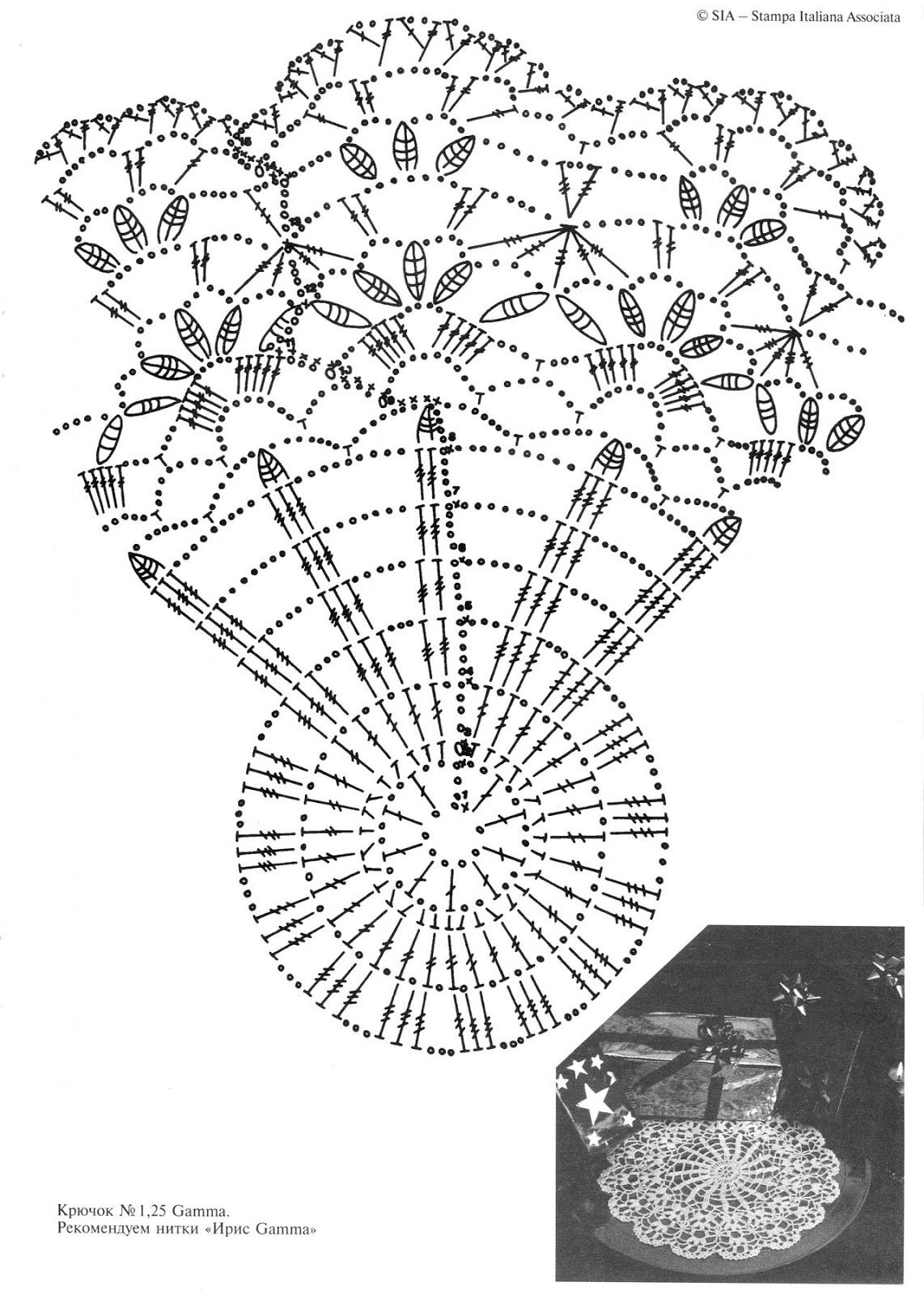 Журнал дуплет вязание крючком салфетки