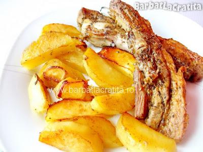 Reteta de costita de porc marinata la cuptor
