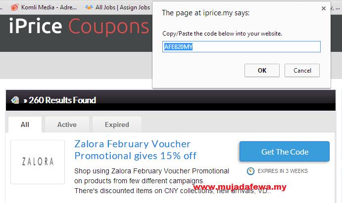 iprice coupons, shopping online, diskaun hebat, shopping online dengan harga diskaun