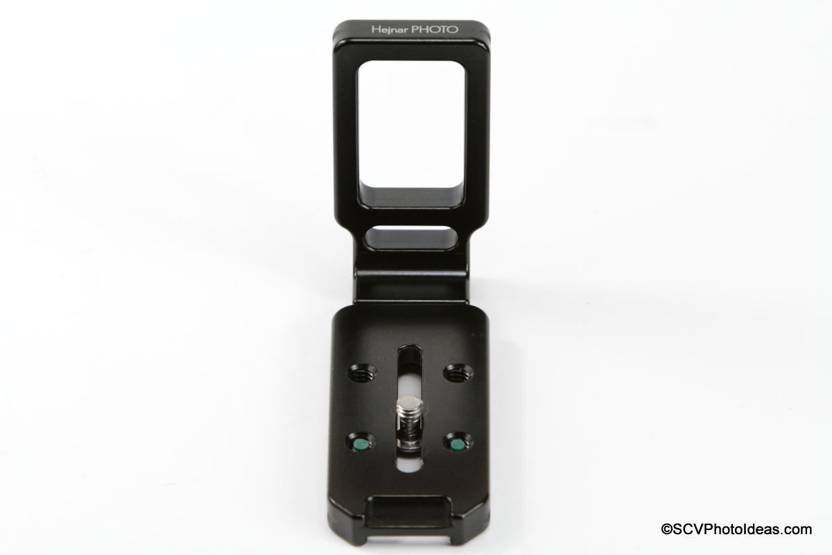 Hejnar Photo Universal Modular L Bracket 22 - base plate end view