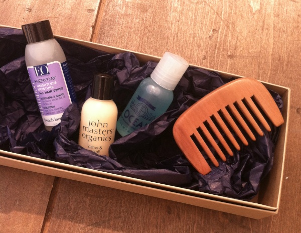 Urban Cargo Men's Grooming Monthly Subscription Box Review - August 2012
