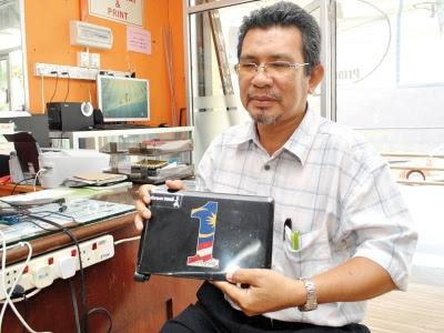 Netbook 1Malaysia: Rosak sebelum sempat digunakan