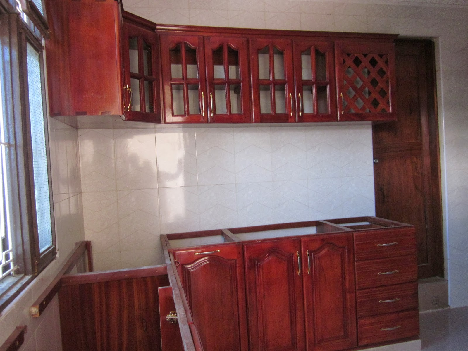 Building Material Home Patterns Funitures And Decors Kitchen Cabinet Za Kisasa Zaidi