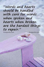 About WORDS and HEARTS...