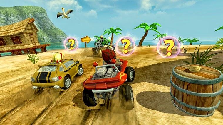 Beach Buggy Racing for Windows Phone and Windows