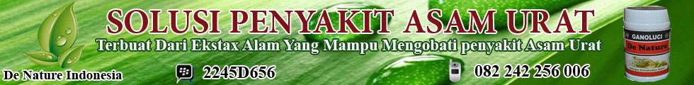 herbal asam urat manjur