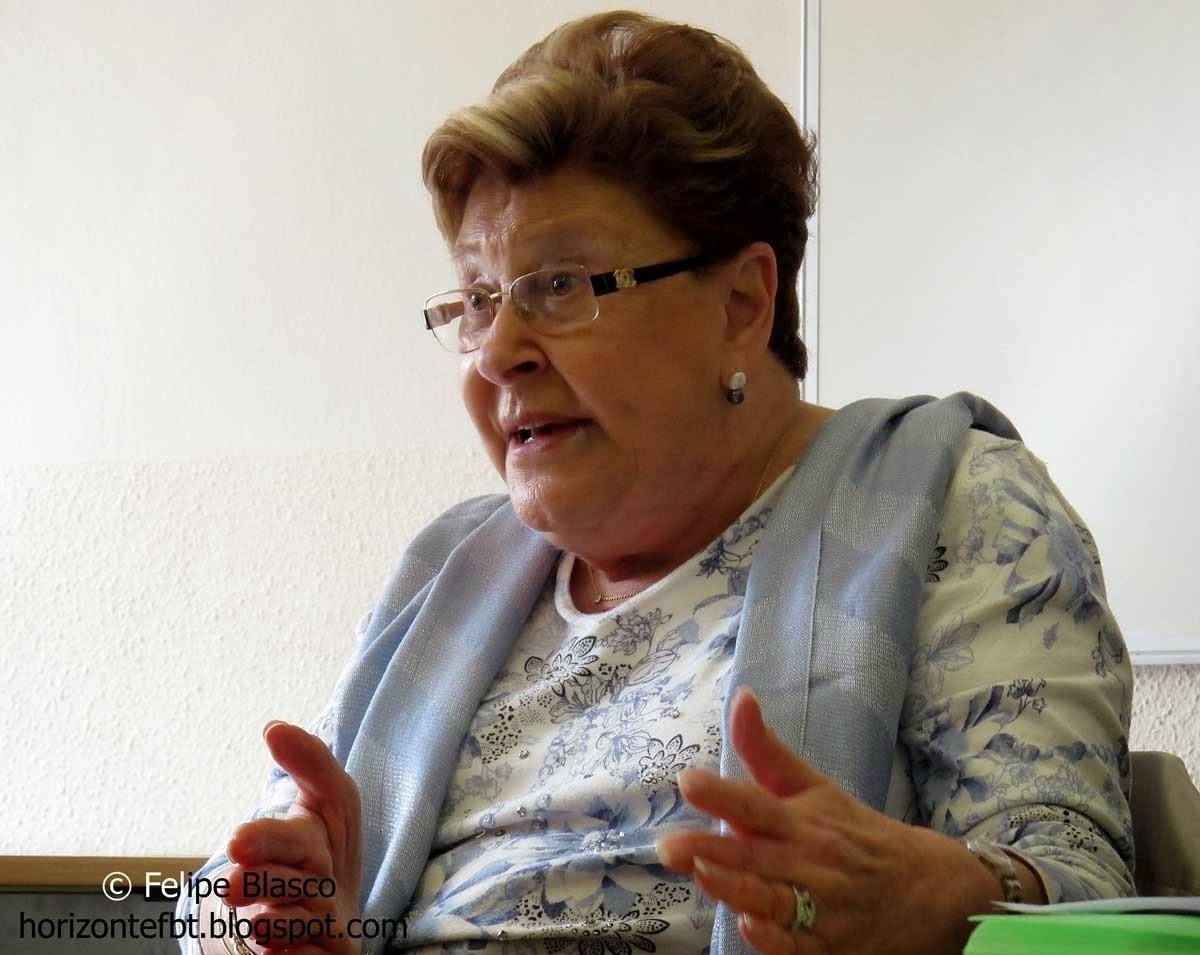 Eliane Zara, superviviente del Holocausto