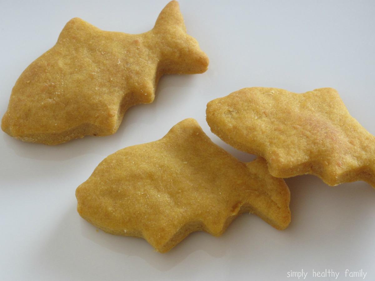 Крекеры рыбки в домашних условиях