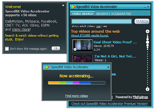 Buffering dengan Speedbit Video Accelerator