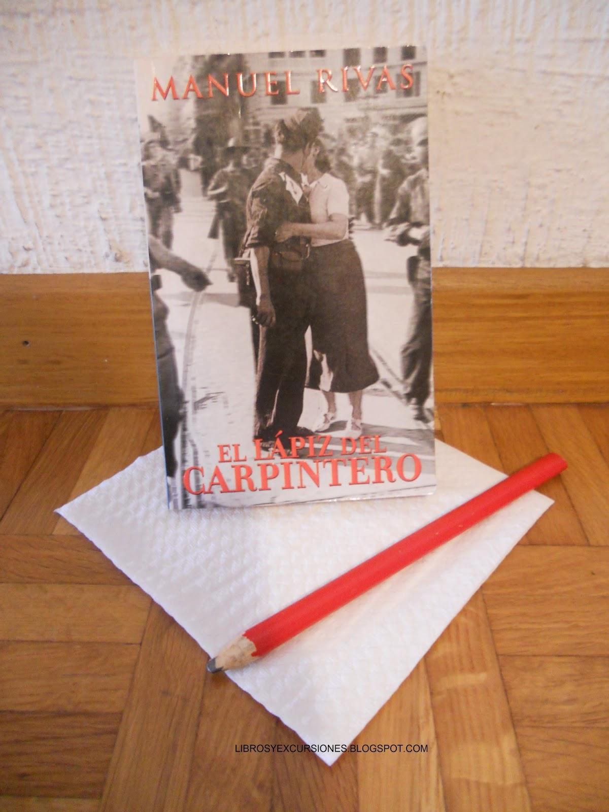 Libros y excursiones el l piz del carpintero de manuel rivas - Carpinteros en santiago de compostela ...