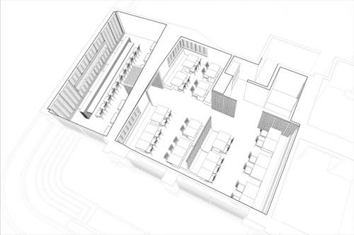 Dim Sum Bar by Hou de Sousa Perspective Concept