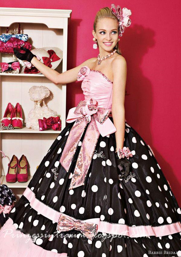 barbie Brautkleider
