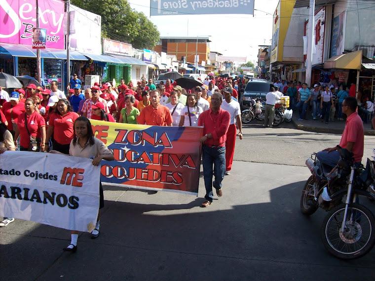 GRAN MARCHA DE LOS DOCENTES