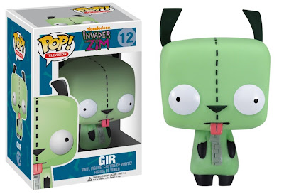 Hot Topic Exclusive Invader Zim Gir Pop! Television Vinyl Figure by Funko