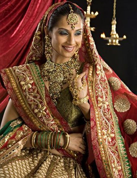 indian bridal dresses |Bridal Jewellery