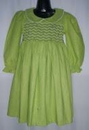 Smocking Dress Cotton Linen