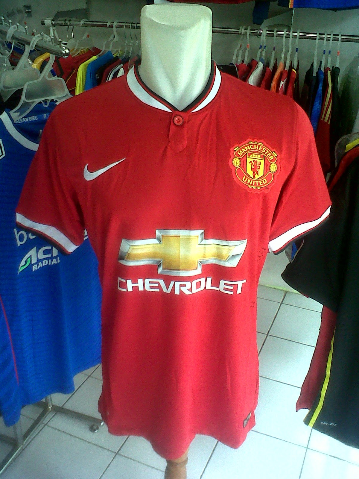 Jersey Manchester United Home 2014/2015