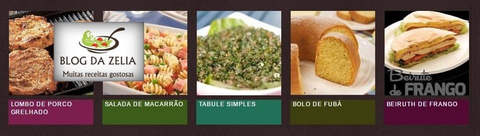 Receitas culinárias deliciosas, bolos, salgados, sobremesas, peixes, batidas e muitas outras.