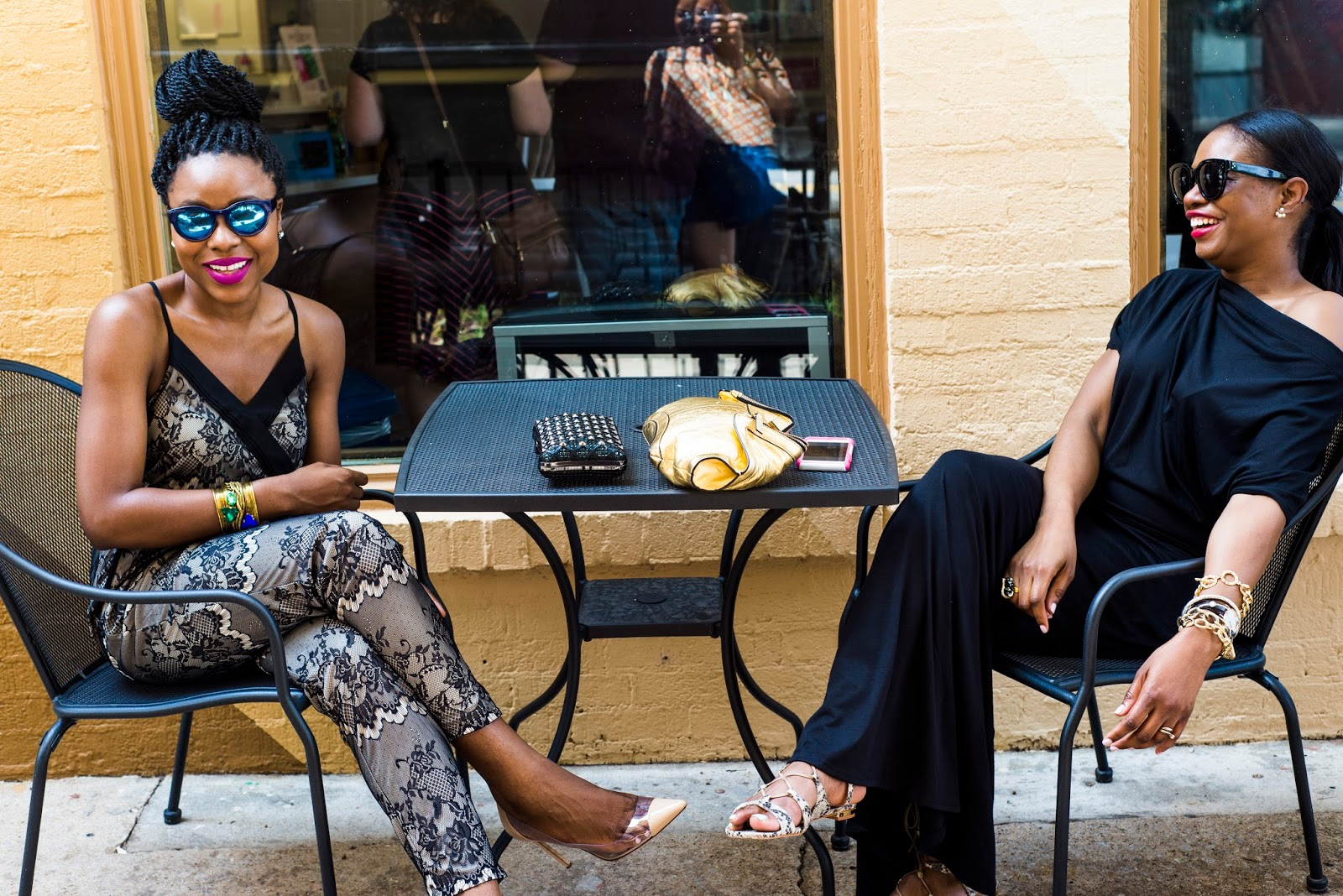 Fashion collaboration: Awed by Monica & Titi's Passion