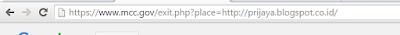 Copy satu-persatu url dan paste ke bar pada browser anda
