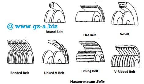 Jenis-jenis belt