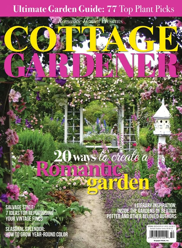 Featured in Romantic Homes Special Cottage Gardener 2015 Issue