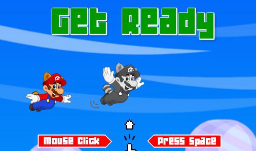 Flappy Mario - Chơi game Flappy Bird phiên bản Mario online
