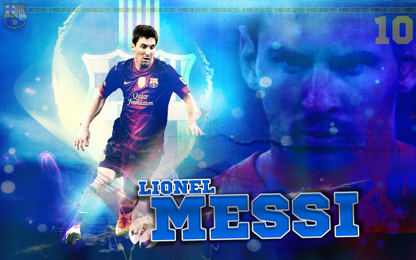 Wallpaper Barca 2013 Messi