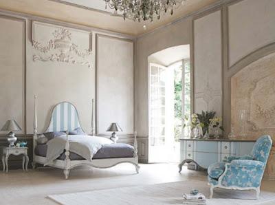 habitación clásica y moderna