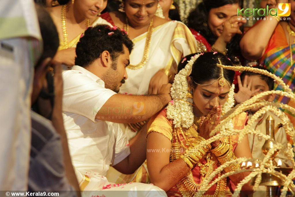 Malayalam Actor Vinu Mohan And Vidya Wedding Photo Gallery