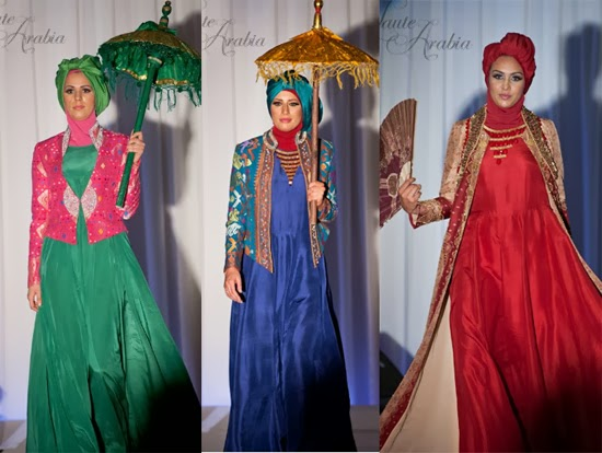 Model Busana Muslim Terbaru Dian Pelangi 2014 Busana