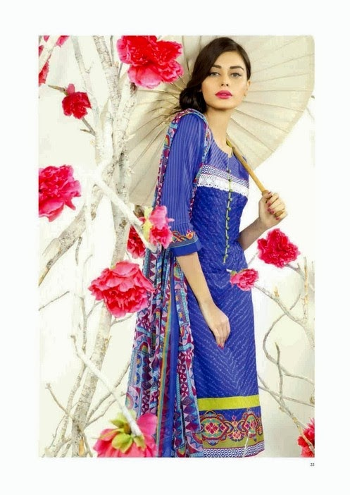 Bonanza Satrangi Lawn & Pret Collection 2014 for Women