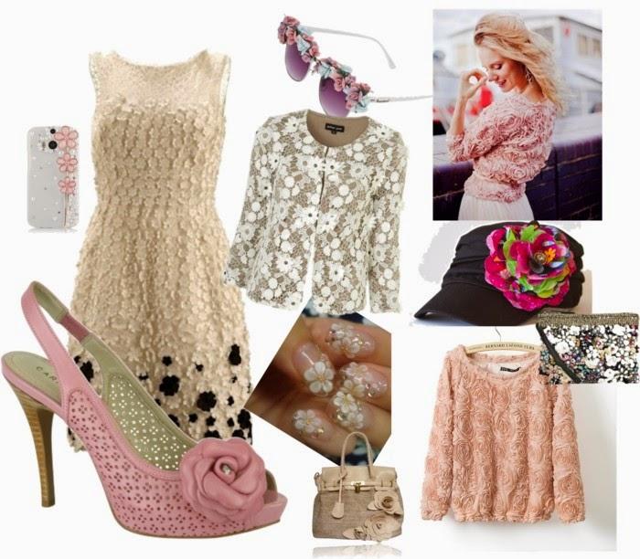 flores 3d moda- moda primavera verão-moda primavera verão 2015-moda feminina primavera verão 2014-modas-moda primavera verão 2014 feminina-moda primavera verão 2015 feminina-boné feminino-roupa da moda-sapato da moda-vestido com renda-vestido de festa