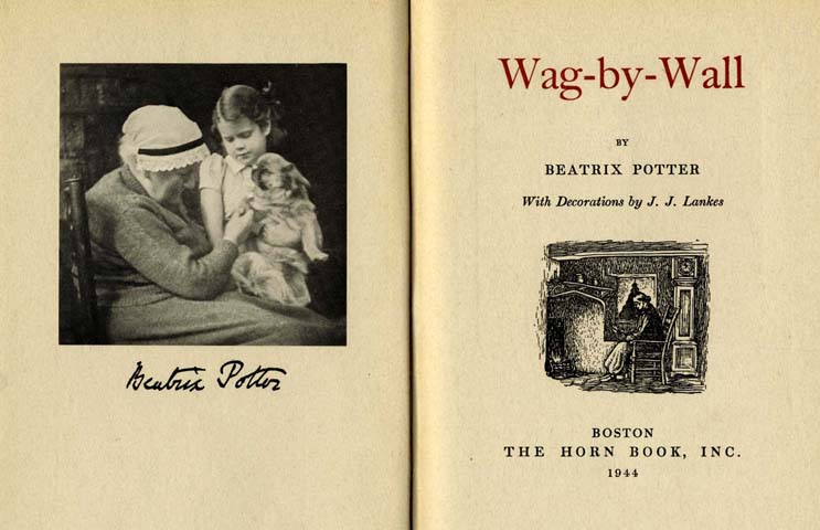 123oleary: A Beatrix Potter Christmas Tale: Wag-by-Wall