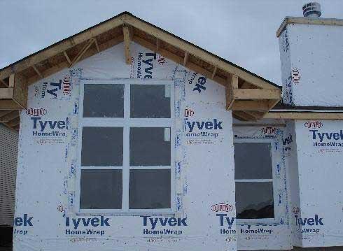 House wrap for Sheathing house wrap