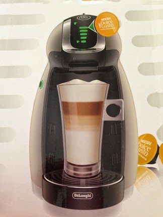 Genio Coffee Maker Glass : MOMMY BLOG EXPERT: Giveaway Nescafe Dolce Gusto Genio Single Serve Gourmet Coffee Maker # ...