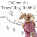 Follow the adventures of travelling rabbit...