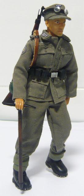 Madelman custom - Gebirgsjager
