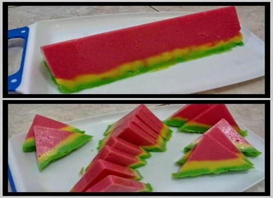 Resep+Cara+Membuat+Puding+Bentuk+Semangka+Spesial+Desserts+Agar+Agar ...