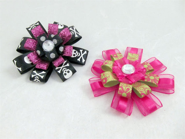 cheap homemade hair bows, USA