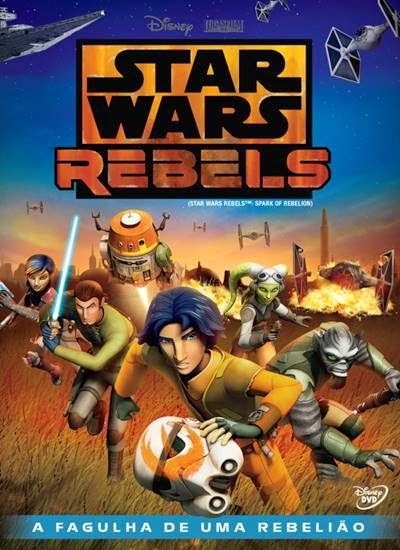 Download Star Wars Rebels A Fagulha de uma Rebelião AVI Dual Áudio + RMVB Dublado DVDRip Torrent