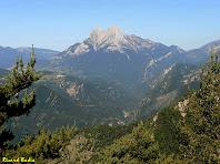 El Pedraforca des de la Carena de la Baga Major. Autor: Ricard Badia
